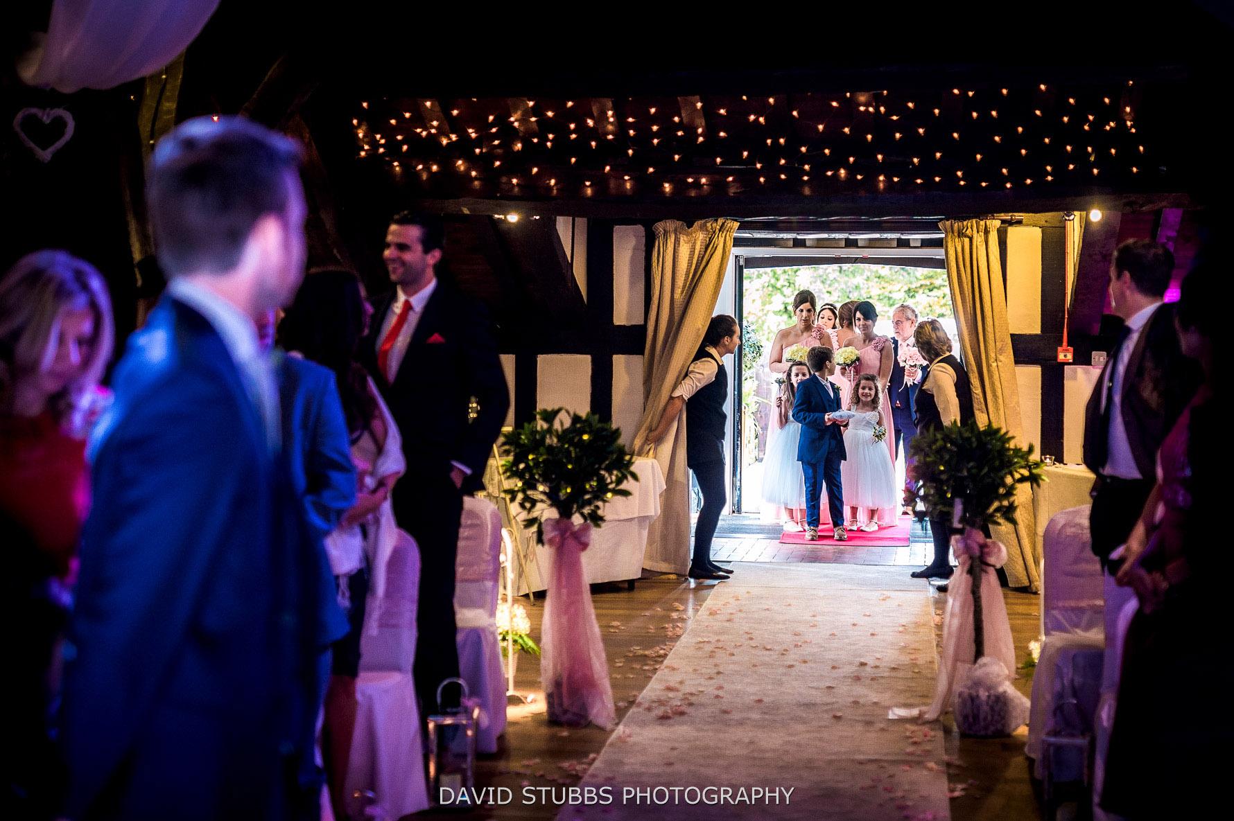 rivington wedding ceremony