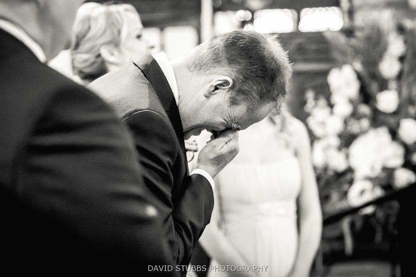 man at ceremony