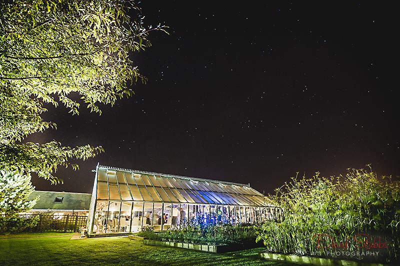 Abbeywood estate at night