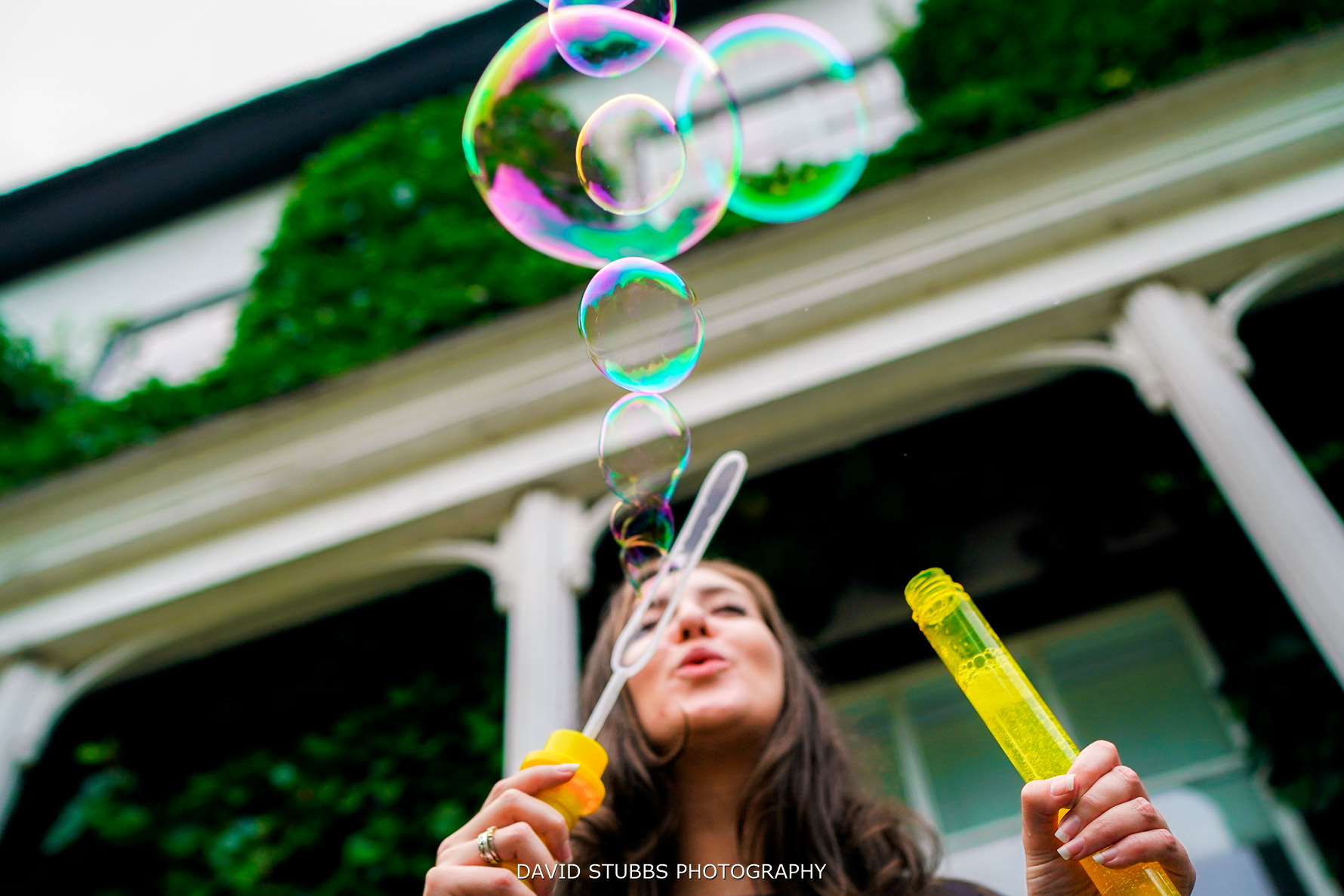 bubbles at the lodge