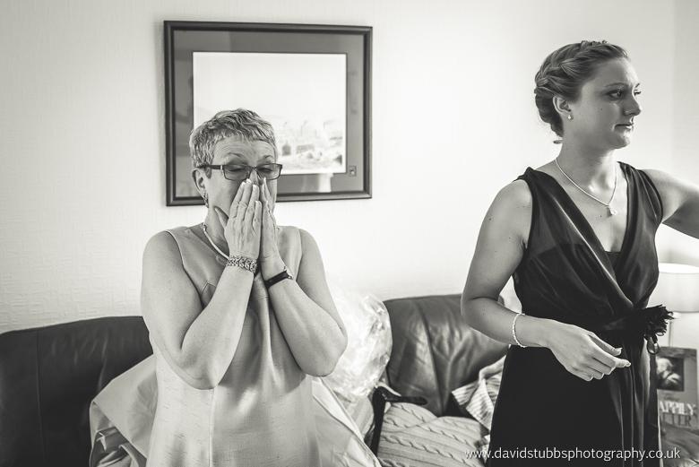 mum crying seeing her daughter