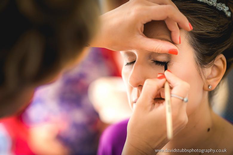 colour photo close-up of make up
