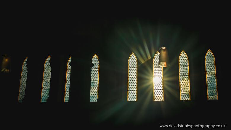 sun shining in through the window