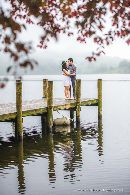 couple at lake district