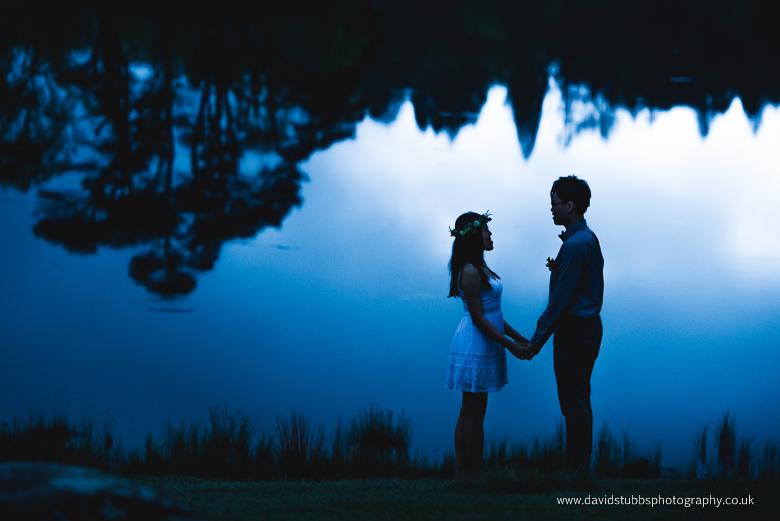 engagement lake district blue