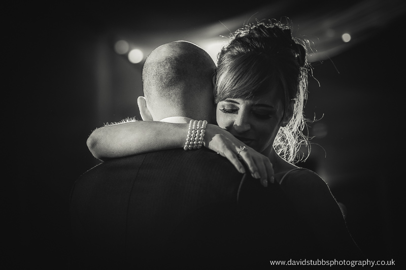 clase up first dance in Black and white