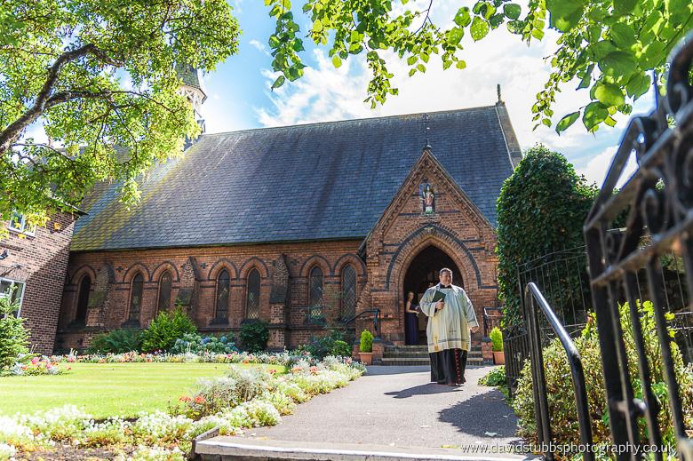 vicar at northwich church