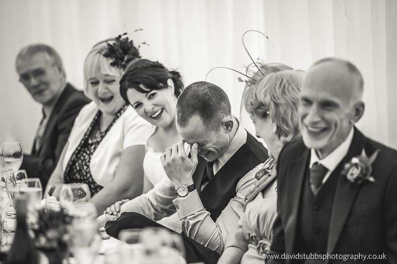 groom embarrassed at best man speech