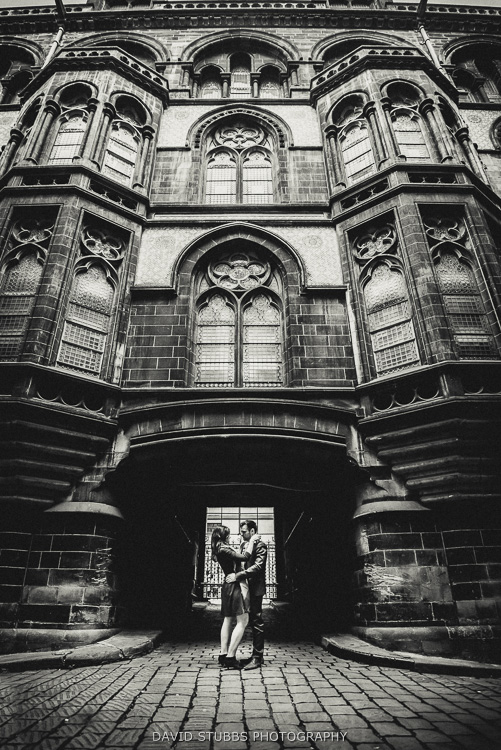 manchester city hall black and white