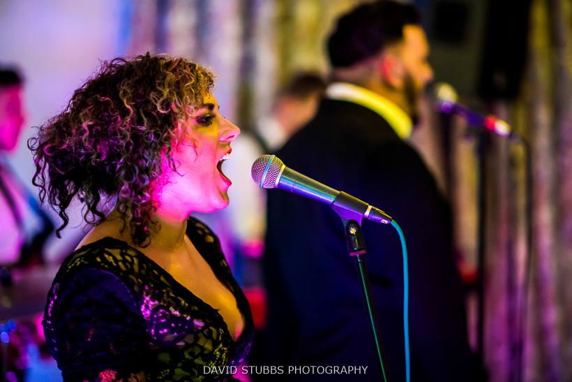 singer of band ribble valley wedding