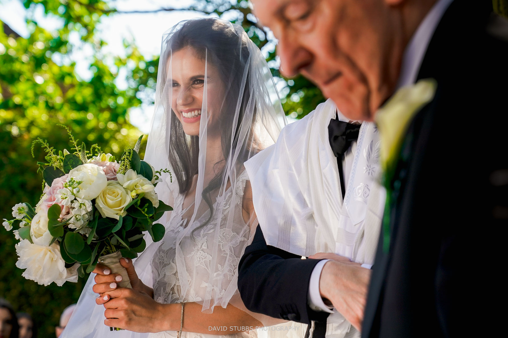 photographing a jewish wedding ceremony
