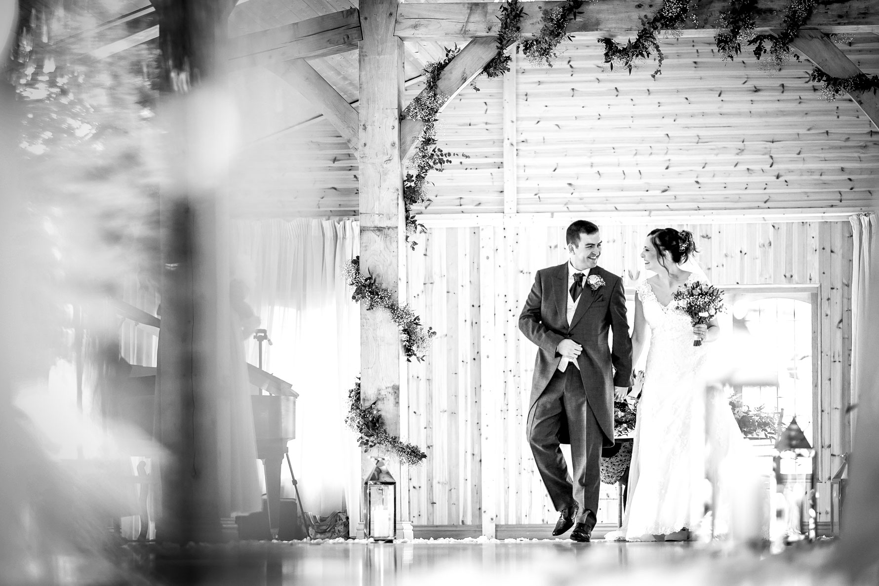walking out as husband and wife
