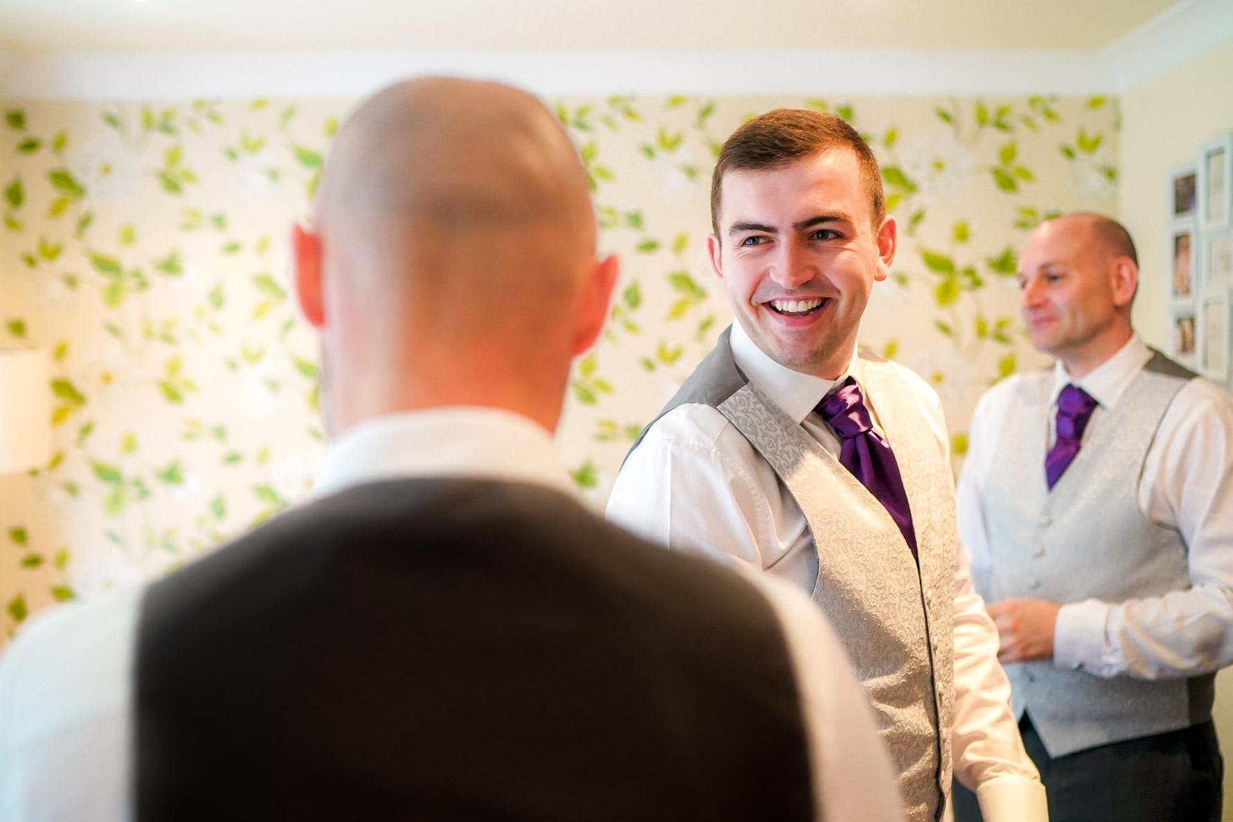 groom and grommsmen
