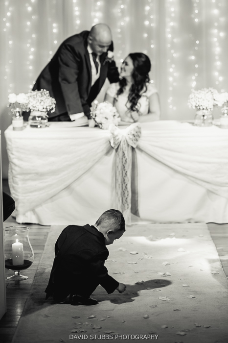 couple signing marriage register
