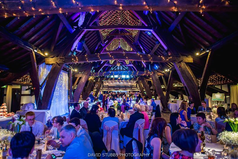 colour photo of rivington wedding