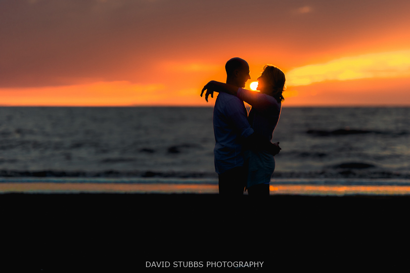 stunning color photo of the couple