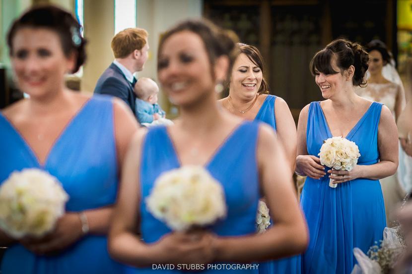 bridesmaids colour photo