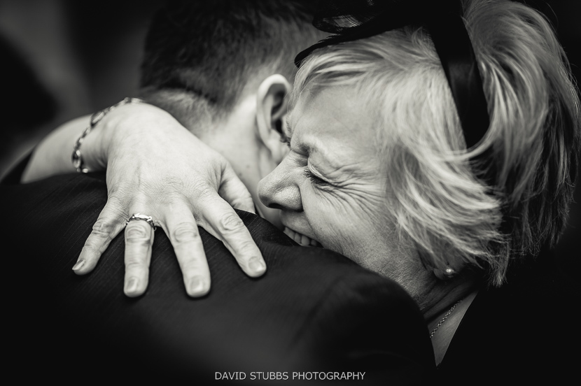 woman and man close up