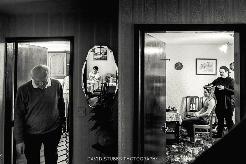 reflection in mirror