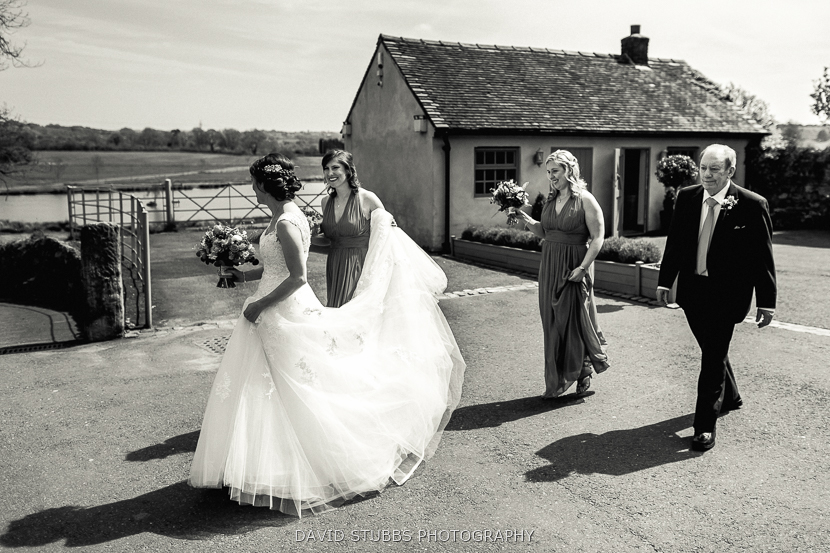 wedding photography at The Ashes
