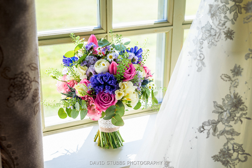 flowers in window colour photo