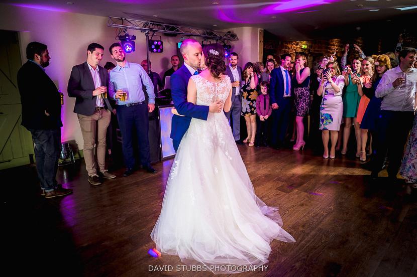 first dance colour photo