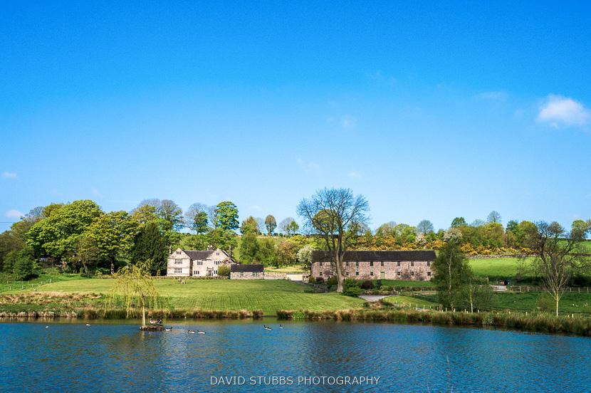 wedding venue across lake