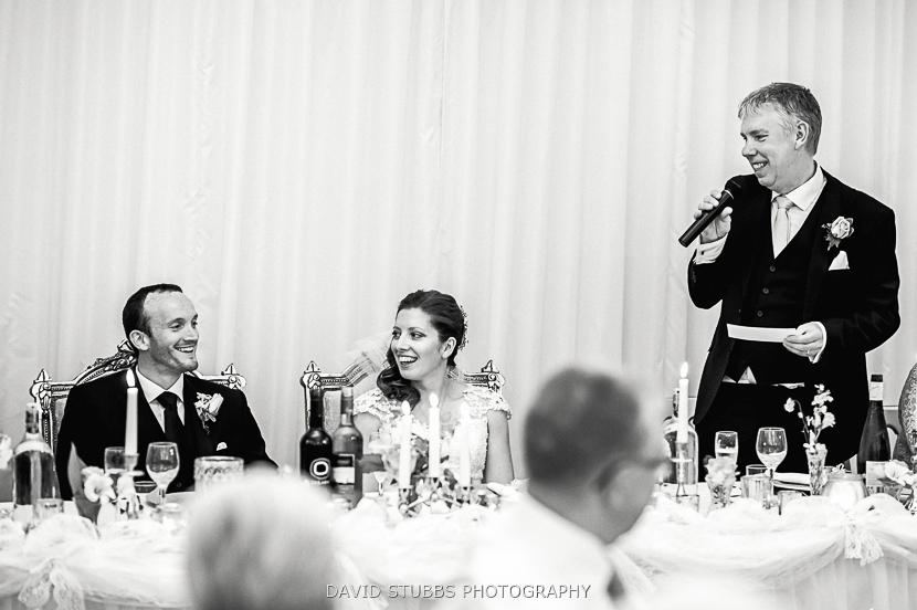 brides dad doing speech