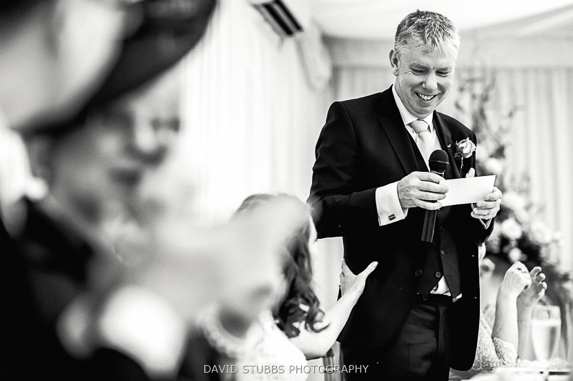 father speech black and white