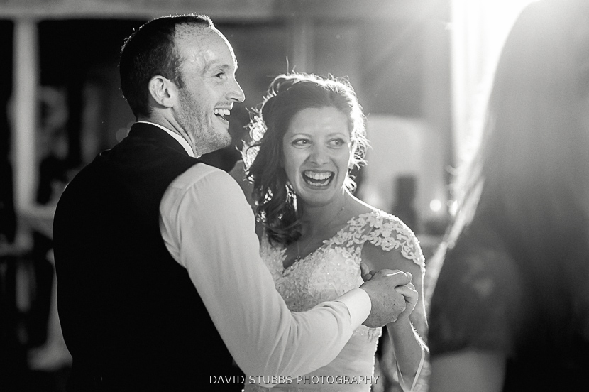 groom and wife black and white
