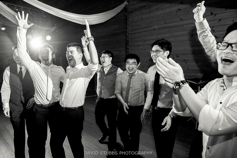 black and white dancing photo
