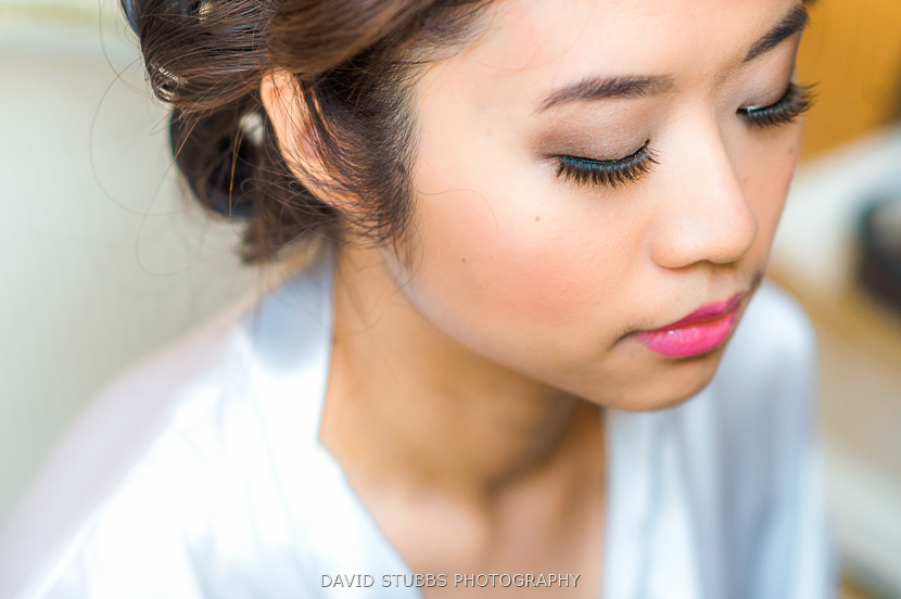 close up of bride colour photo