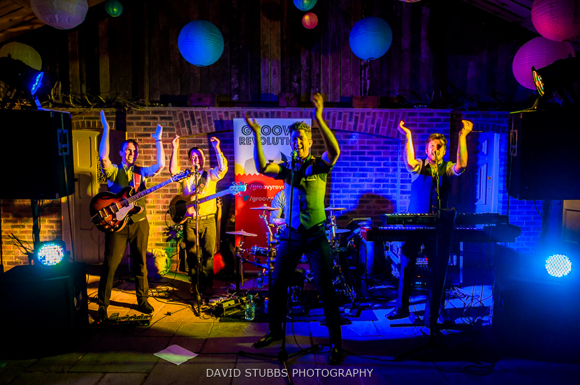 groovy revolution party band