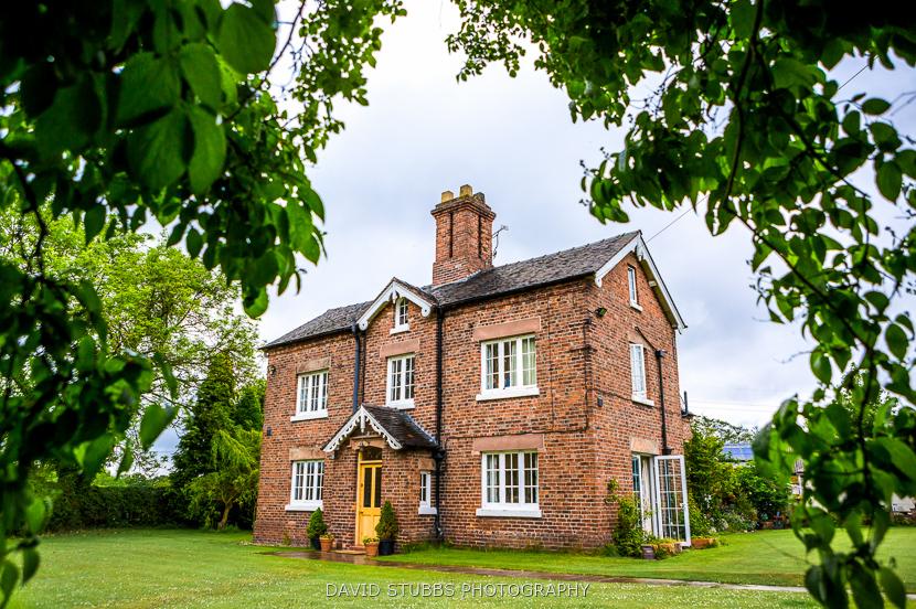 colour photo of cottage