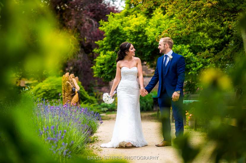 wife and man in gardens