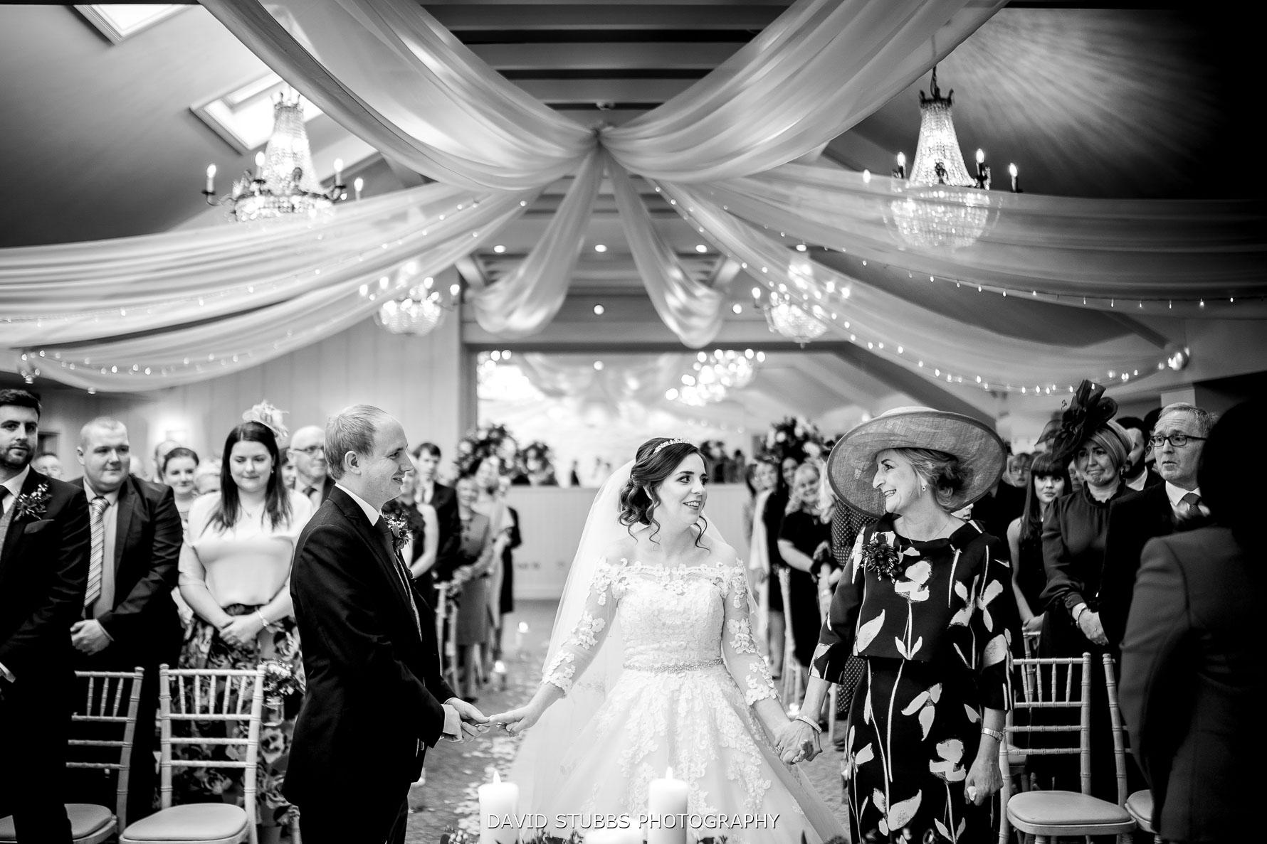 wedding ceremony at hotel