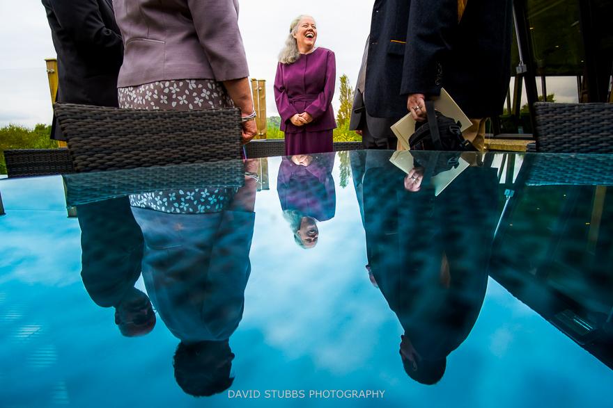 reflection shot