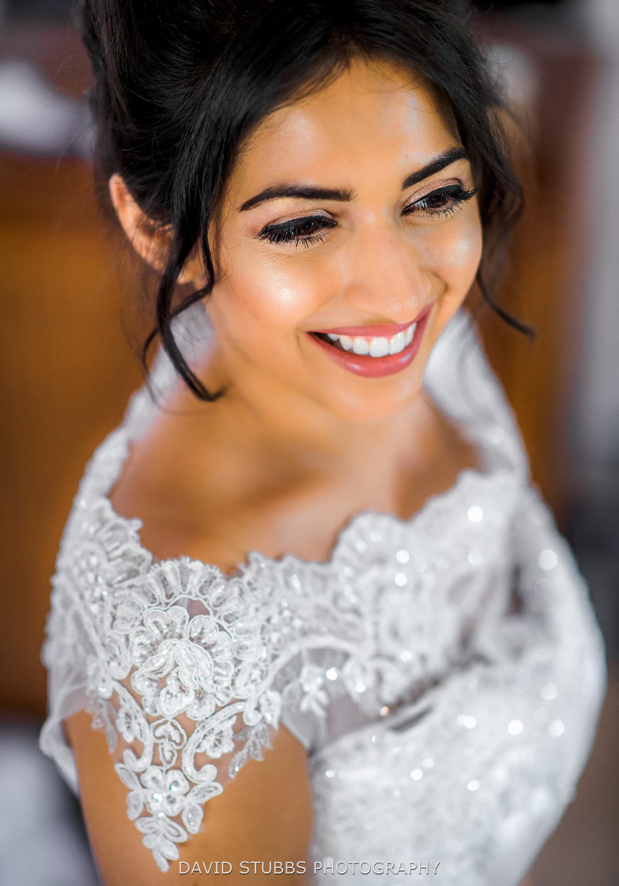 protrait of the bride