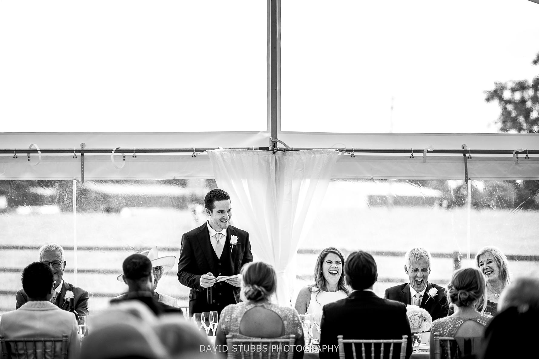 groom telling stories