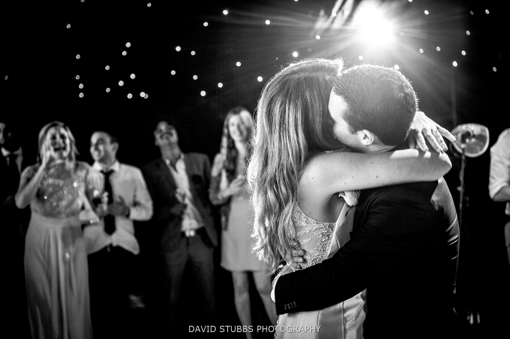 dancing and hugs