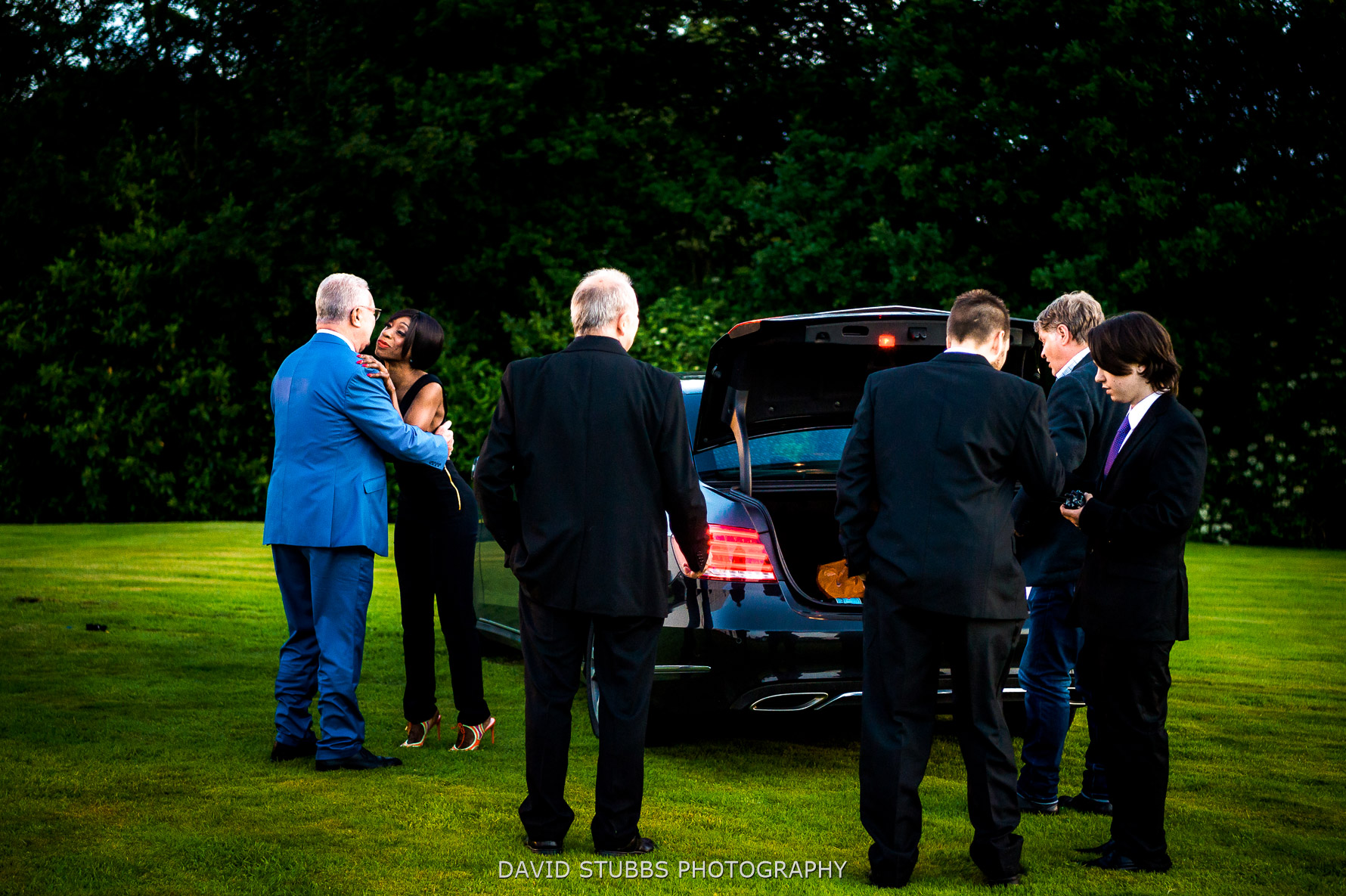 arrival of Heather Small wedding