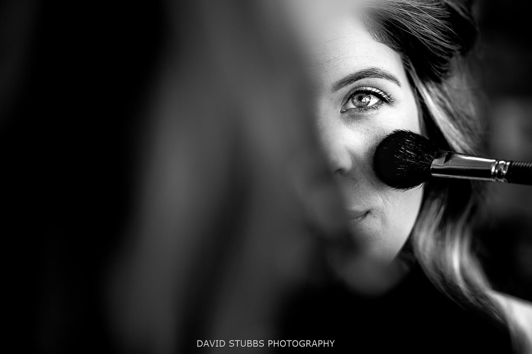 close-up of make-up