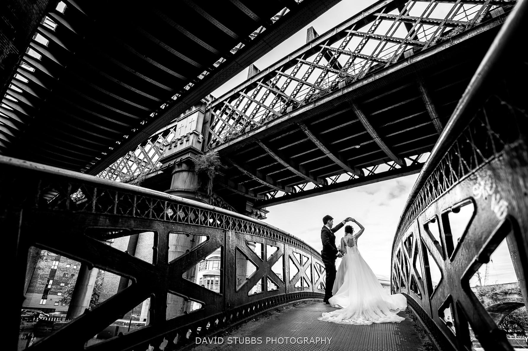 spin on bridge