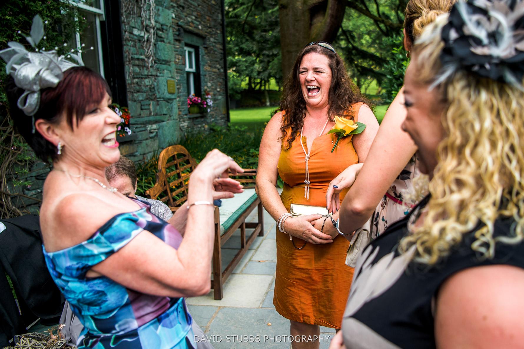 fun wedding in Lakes