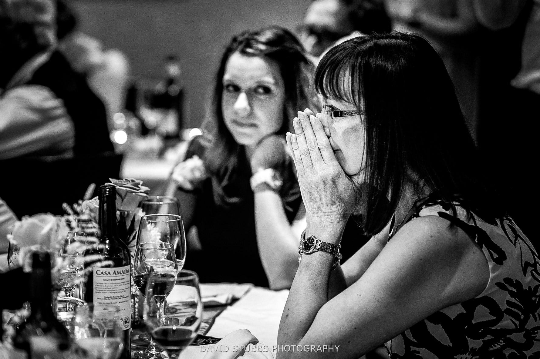 tears at speech by mum