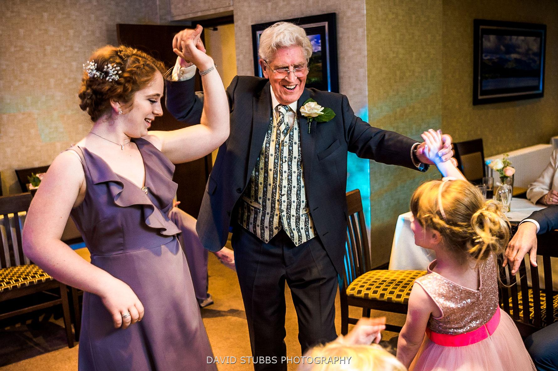 dancing with grandad