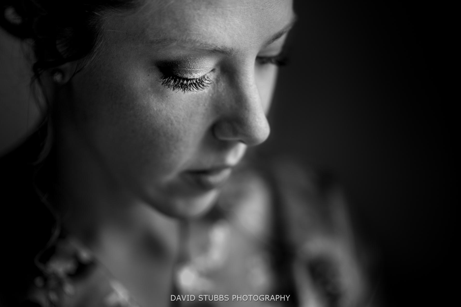 close up of bridal