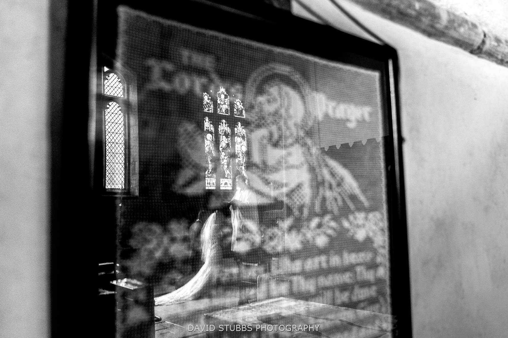 prayer and reflection in frame