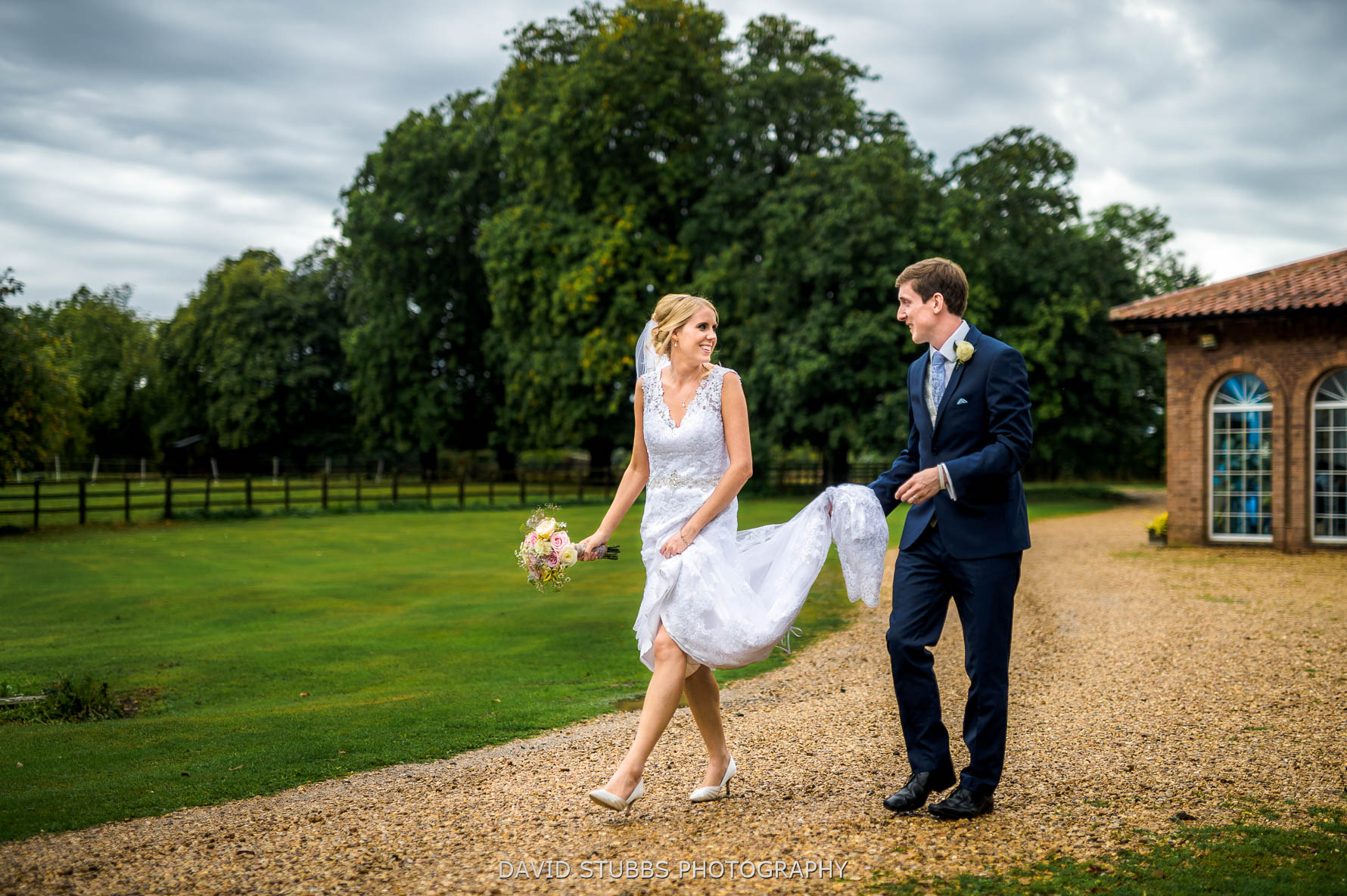 natural wedding photography at Irnham Hall in Lincolnshire