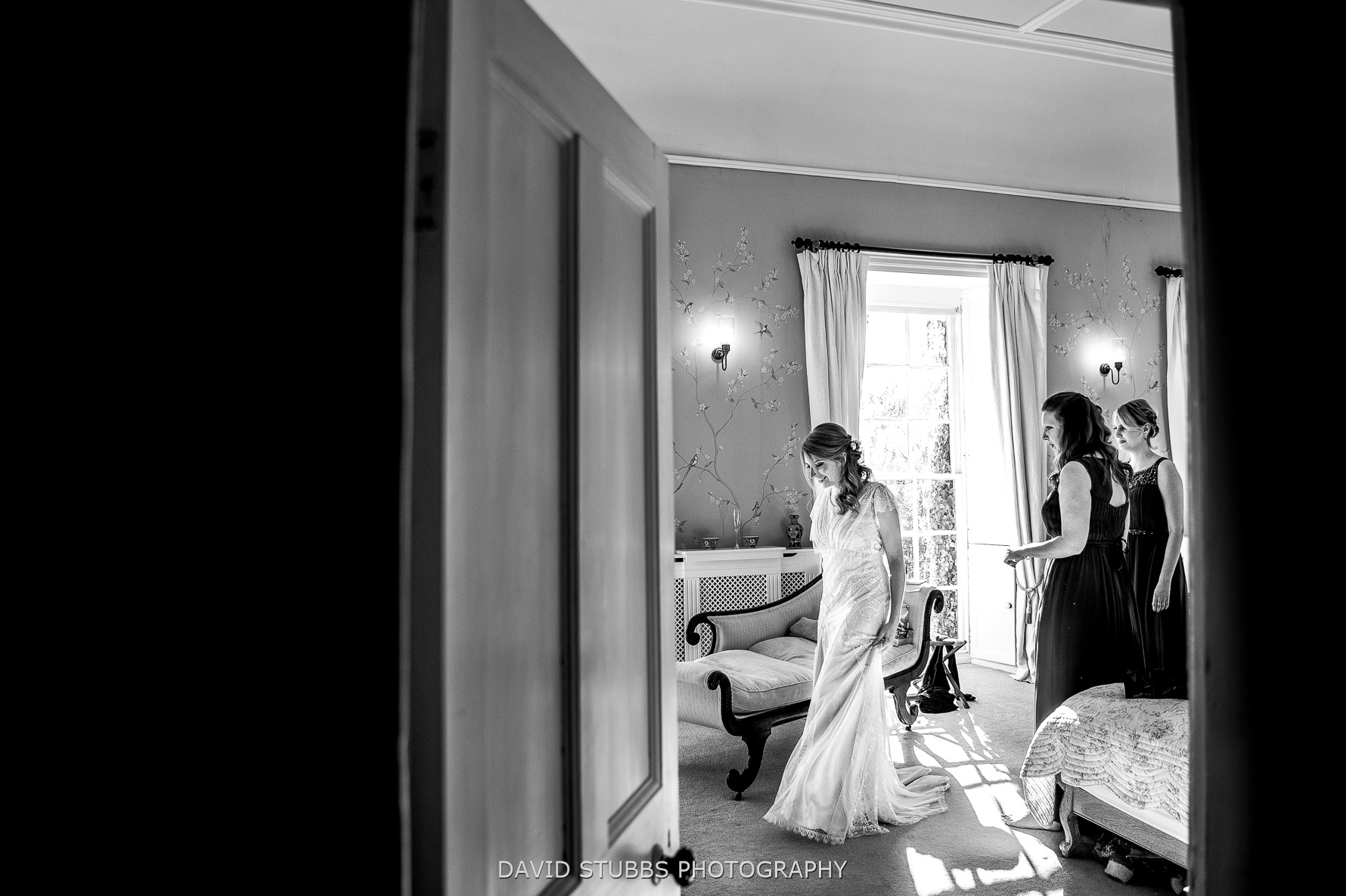 getting in her dress before marriage